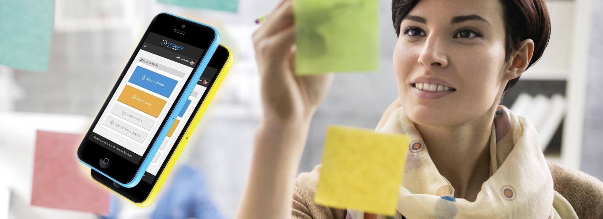 Nuevo sistema profesional de control de asistencia personal, Cronner App